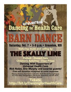 Dancing for Universal Health Care @ Barn Dance